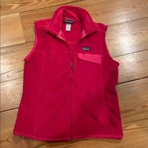 Patagonia Vest Hot Pink